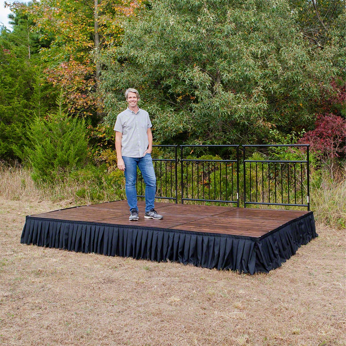 Outdoor Worship Portable Stages