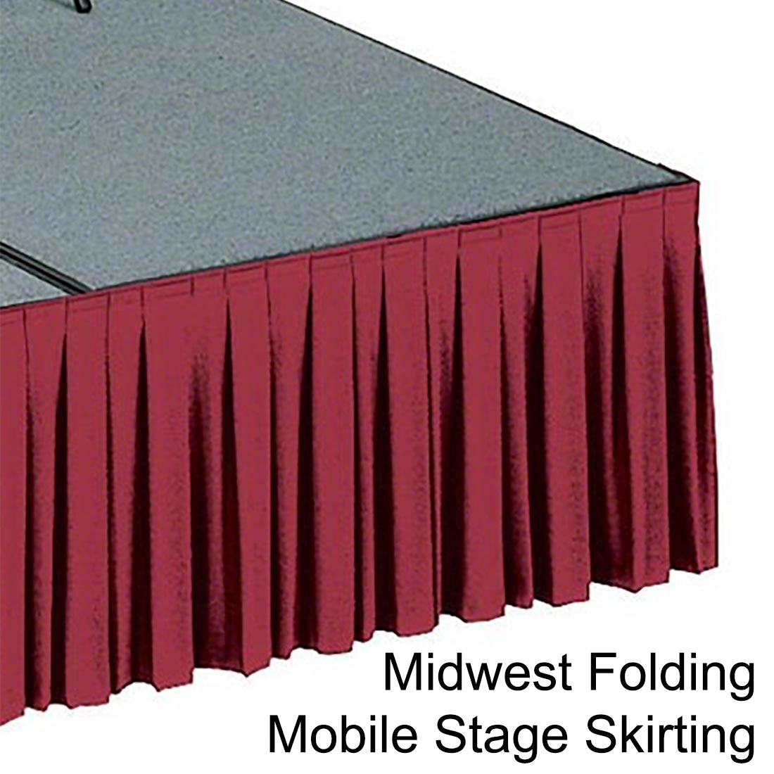 Mobile Stage Skirts