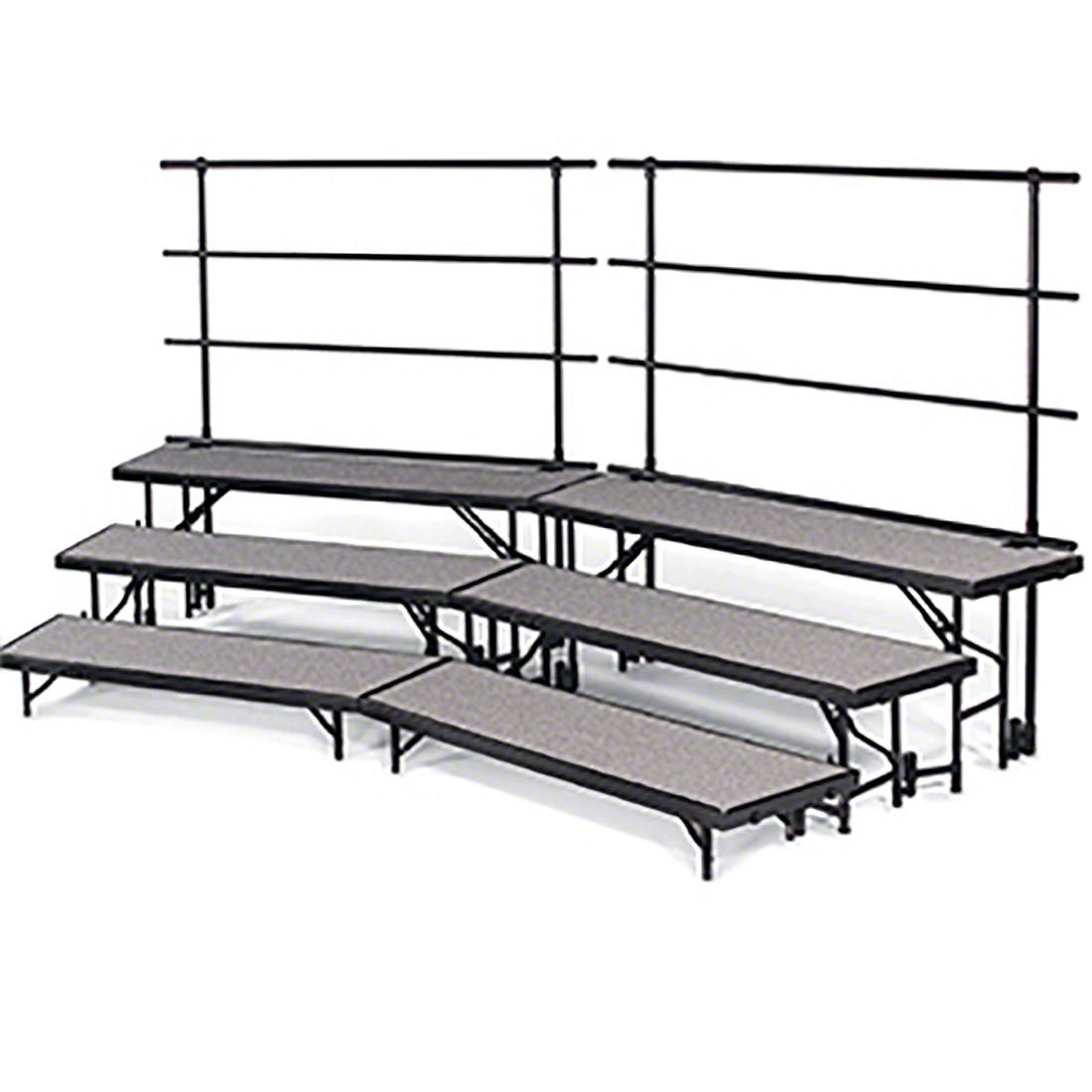 Midwest Folding Standing Choral Risers
