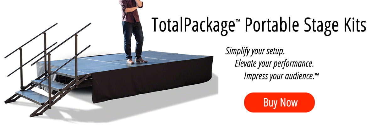 TotalPackage™ Portable Stage Kits