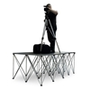 IntelliStage Lightweight Dual 4'x4' Folding Camera Platforms with Risers (Ground Shippable)