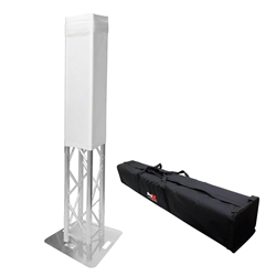 ProX K-Truss 1.5m Lightweight Square Totem Package with White Cover & Carry Bag trussing totems, trussing towers, ProX Direct, ProX, KTruss, KTruss trussing, lightweight truss, square truss, 1.5m truss