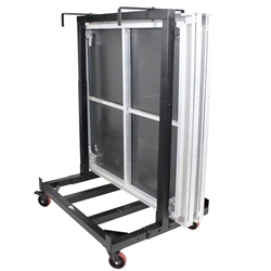 ProX Rolling Storage Cart for 4W Stage Decks ProX Direct, ProX Stage Q, portable stage, portable staging, stage transport, stage storage, dolly, stage dolly, stage cart