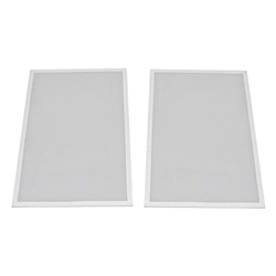 "ProX Lumo Stage Acrylic Side Panel for 16"" High Riser (2-Pack) dance stage, light stage, disco stage, lumo stage, light up stage, LED stage, 16"", 16 inch acrylic"