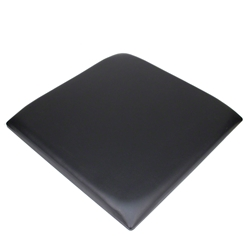 ProX Padded Seat Cushion for 2x2 Lumo Stage, Black dance stage, light stage, disco stage, seat pad, padded seat bench, light up seat