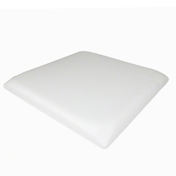 ProX Padded Seat Cushion for 2x2 Lumo Stage, White dance stage, light stage, disco stage, seat pad, padded seat bench, light up seat