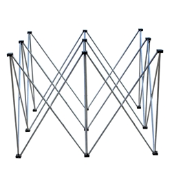 "ProX StageX Lightweight 4x4 Square Stage Riser, 32"" High ProX Direct, ProX StageX, portable stage, portable staging, 32 inch, 32"", 32 inch riser, stage riser"
