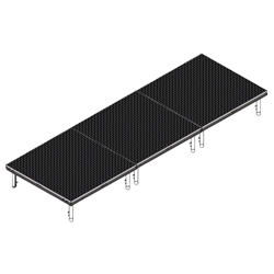 QuickLock Staging 4x12 Indoor/Outdoor Stage System 4x12, 12x4, portable stage platform, portable staging platform, stage deck, stage panel, quicklock, quicklock staging