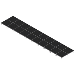 QuickLock Staging 8x40 Indoor/Outdoor Stage System 8x40, 40x8, portable stage platform, portable staging platform, stage deck, stage panel, quicklock, quicklock staging