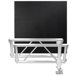 All Terrain 4x4 Corner Extension Kit - 2 Side Panels/1 Leg Assembly/1 Platform All Terrain staging, outdoor stage kit