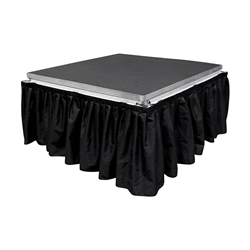 "All-Terrain 8 Wide, 24"" Long Black Skirt skirting"
