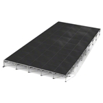 "All-Terrain 20'x36' Outdoor Stage System, 24""-48"" High 20x36, 36x20, 20 x 36, outdoor stage, weatherproof stage, waterproof stage"