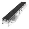 "All-Terrain 4'x28' Outdoor Stage System, 24""-48"" High, Industrial Finish"