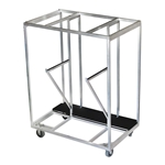 All-Terrain Stage Accessories Trolley stage dolly, handtruck, storage cart, trolley, guard rail, guard rails, stage leg storage