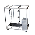 All-Terrain Small Storage/Transportation Trolley stage dolly, handtruck, storage cart