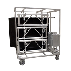 "All-Terrain Large Storage/Transportation Trolley (45""x66"") stage dolly, handtruck, storage cart"