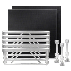 All Terrain 4x8 Extension Kit - 5 Side Panels/3 Leg Assembly/2 Platforms 4x8, 8x4