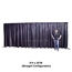 Ameristage FlexDrape 12'-20' Adjustable Backdrop Wall Kit - AMFLXDR