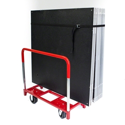 Ameristage StageKart - Rolling Storage Cart Only stagekart, stage storage, transportation, dolly, handtruck, cart, stagecart, stage cart, rolling cart, stagecart, stage cart, wheeled cart, stage movers