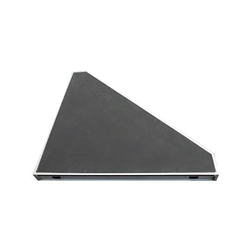 Biljax AS2100 4x4 45-Degree Triangle Poly Stage Deck triangular, 90 degree, right triangle, angled stage platform