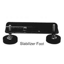 Biljax Ultra Stair Stabilizer Foot biljax, portable staging, ST8100, AS2100, ultra stair, stabilizer foot, ultra stair foot, step, step assembly