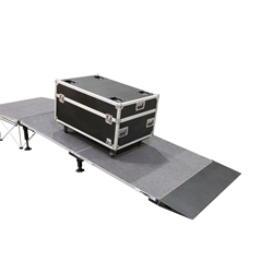 "IntelliStage Equipment Ramp w/Landing for 16"" High Stages"