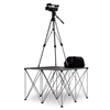 IntelliStage Lightweight 4'x4' Folding Camera Platform with Riser (Ground Shippable)