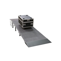 "IntelliStage Equipment Ramp for 24"" High Stages portable stage ramp"