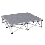 IntelliStage Lightweight 3'x3' Portable Stage Unit portable staging, lightweight, stage unit, 3x3, 3 x 3, stage package
