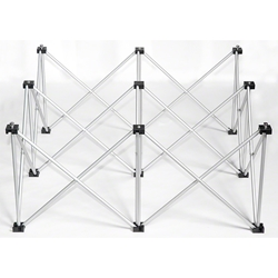 IntelliStage Lightweight 3x3 Square Stage Riser portable stage riser
