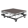 IntelliStage Lightweight 4'x4' Mobile Camera Platform on Casters, Carpet
