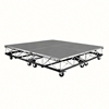 IntelliStage Lightweight 8'x8' Mobile Drum Riser on Casters, Carpeted