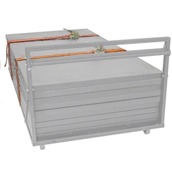"IntelliStage 2"" Strap with Ratchet stage storage, storage cart, rolling cart, stage dolly, transport, secure, strap with ratchet"