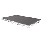 IntelliStage 12'x8' Portable Stage System express deck, small stage, ISTAGE1288T ISTAGE1288C ISTAGE12816T ISTAGE12816C ISTAGE128248T ISTAGE12824C ISTAGE12832T ISTAGE12832C