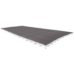 IntelliStage Lightweight 20x28 Portable Stage System 20x28, 28x20, 560 square feet, portable stage, portable staging, lightweight, lightweight stage, intellistage