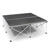 IntelliStage Lightweight 4'x4' Folding Portable Stage Unit