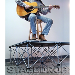 StageDrop 4'x4' Folding Stage Package
