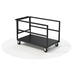 IntelliStage TCART Universal Transportation Storage Trolley for Portable Stages stage storage, stage case, road case, storage cart, rolling cart, stage dolly, transport, road cart
