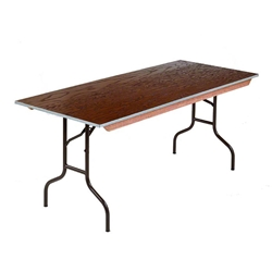 "Midwest Folding 430E 30""x48"" Folding Table, Plywood midwest folding, e series, 430e, rectangle, folding table, 48x30, 30x48, 30x48x30"