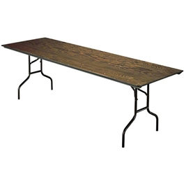 "Midwest Folding 830E 30""x96"" Folding Table, Plywood midwest folding, e series, 830e, rectangle, folding table, 96x30, 30x96, 30x96x30"