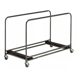 Midwest Folding Heavy-Duty Rectangular Edge Stack Table Caddy heavy duty, heavy duty table dolly, midwest folding, rectangle, folding table, rectangle table dolly, rectangle table caddy, table caddy, table dolly