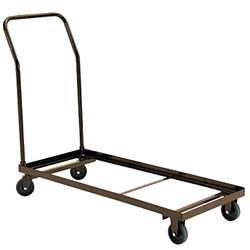National Public Seating 1100 Series Dolly 1105, 1110, 1115, folding chair truck, folding chair dolly, folding chair trolley