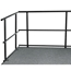 "National Public Seating GRS30 30"" Guard Rail for Stages - NPS-GRS30"