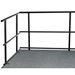 "National Public Seating 48"" Guard Rail for Stages - NPS-GRS48"