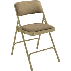 National Public Seating 2200 Series Fabric Premium Folding Chair folding chairs, 2200 series, padded chairs, upholstered folding chair