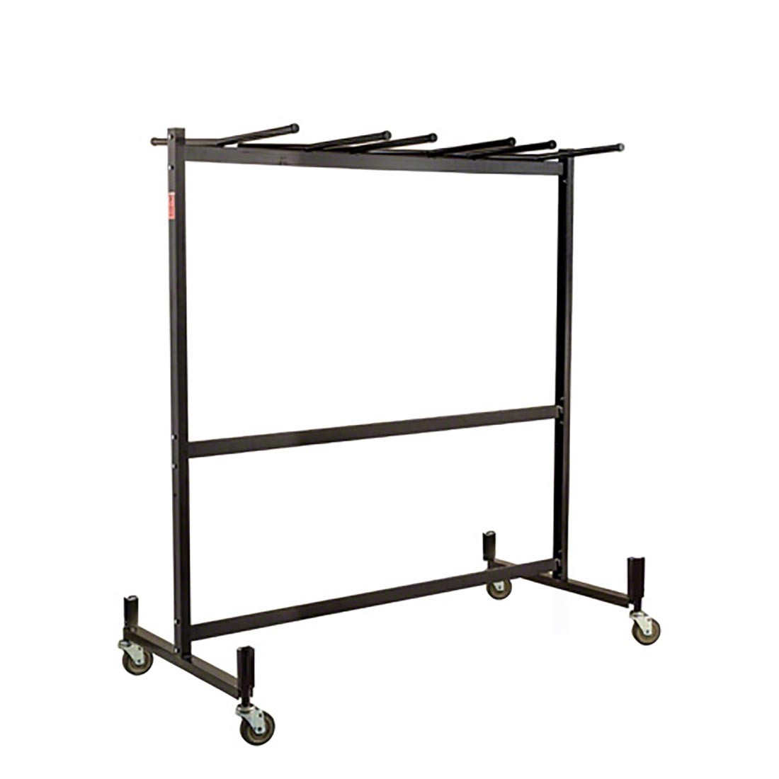 national public seating 42 8 combination folding chair table storage truck nps - National Public Seating