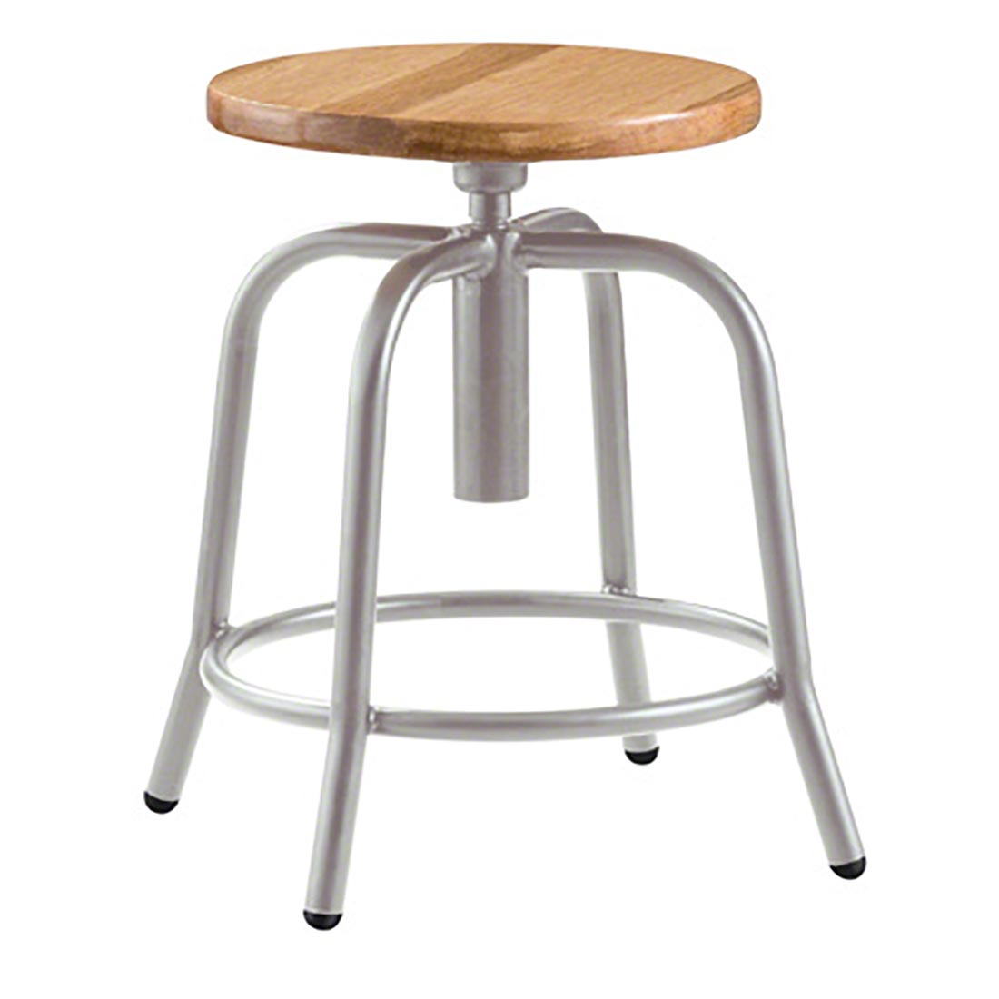 ... National Public Seating 6800 Series Science Lab Adjustable Height Stool    NPS 6800  ...