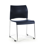 National Public Seating 8804 Cafetorium Stack Chair, Navy stack chairs, 8800 series, cafetorium chairs