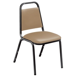 National Public Seating 9100 Series Standard Vinyl Stack Chairs 9100 series, vinyl upholstered padded stacking chair