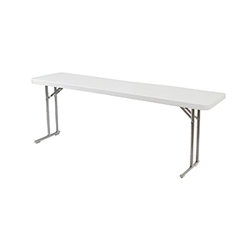 "National Public Seating 18""x60"" Folding Seminar Table  bt1800, rectangle, seminar table, 18x60, 60x18, bt-1860, bt1860"